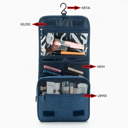 neceser de viaje mod520 porta cosmeticos maquillaje premiun