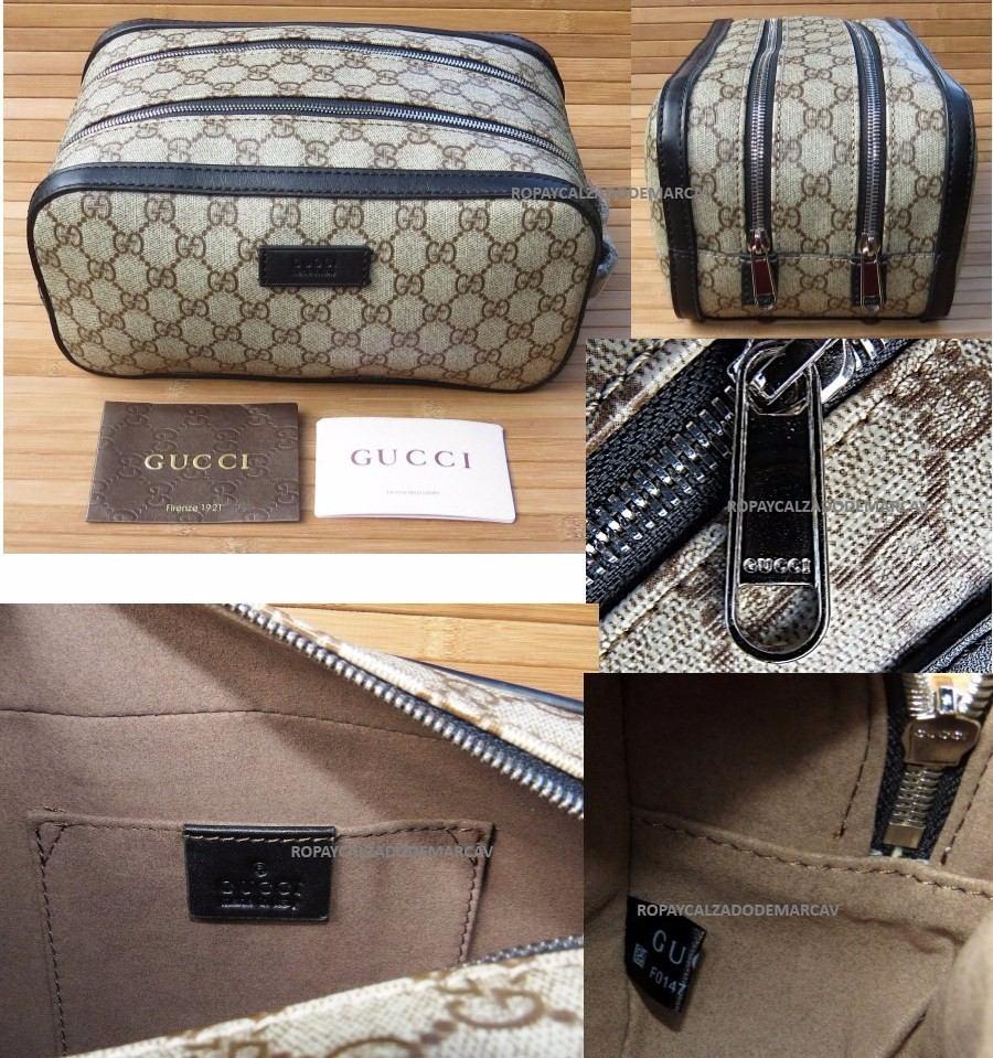 ee27290b0 Neceser Gucci Gg Envío Gratis Y Meses Sin Interes - $ 3,599.00 en ...
