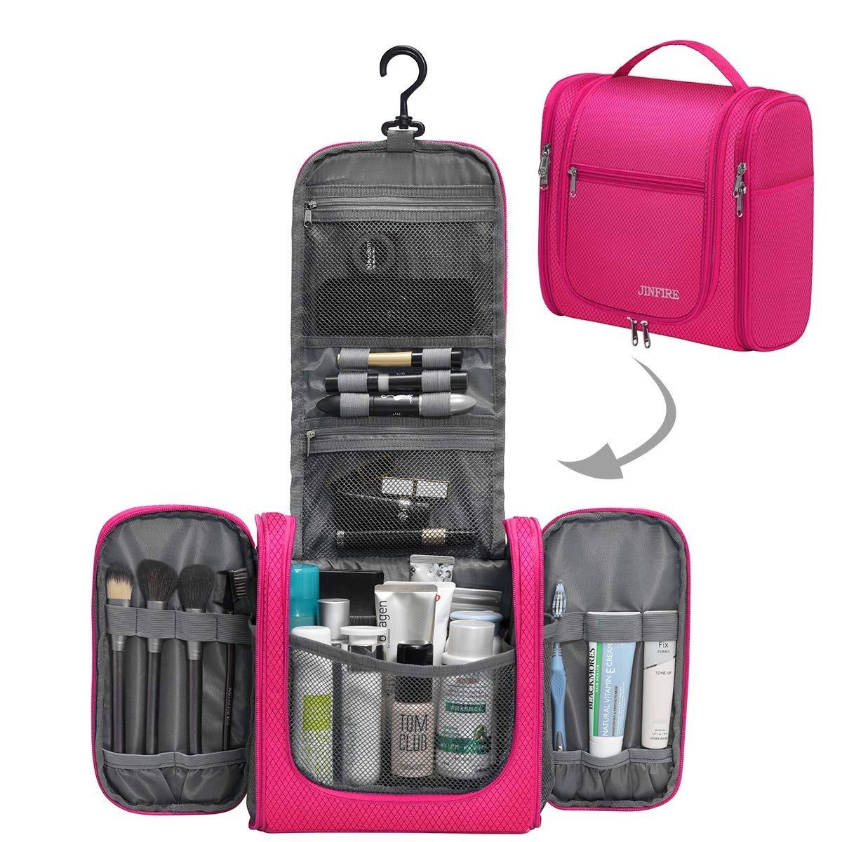 c41f4be93 neceser organizador bolsa viaje colgante impermeable rosa ms. Cargando zoom.