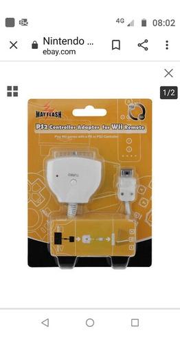 necesito este adaptador de ps2 a wii necesito urgente gracia
