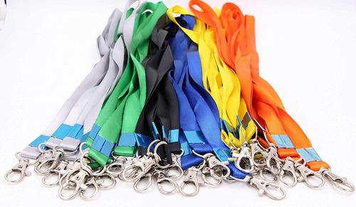 neck lanyards para identificación badges - lebeila identifi