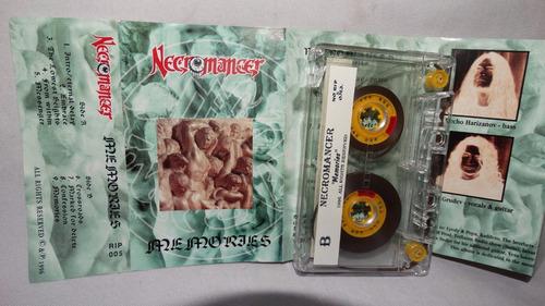 necromancer - memories ( death bulgaria) (carcasa:ex - inser