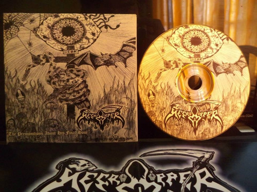 necroripper - the premonitions about his final hours ep