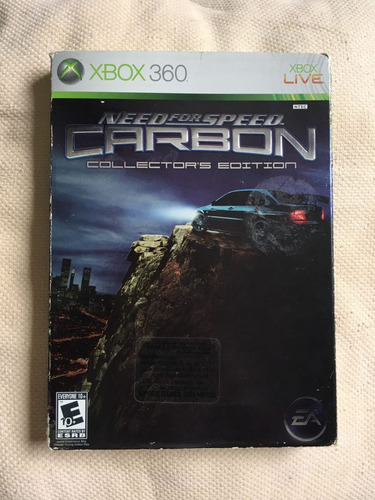 need for carbon collectors  xbox 360 super raro-imperial gam