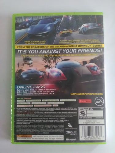 need for sped hot pursuit xbox 360 garantizado
