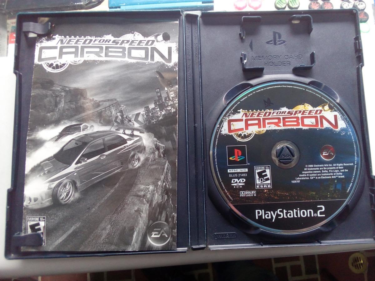 Need For Speed: Carbon Ps2 Fisico Como Nuevo - $ 30 000