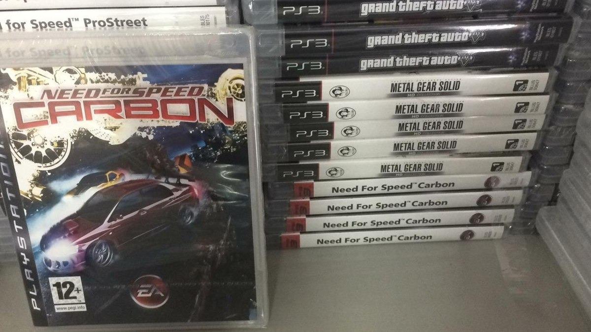 Need For Speed Carbon - Ps3 - Midia Fisica Lacrado