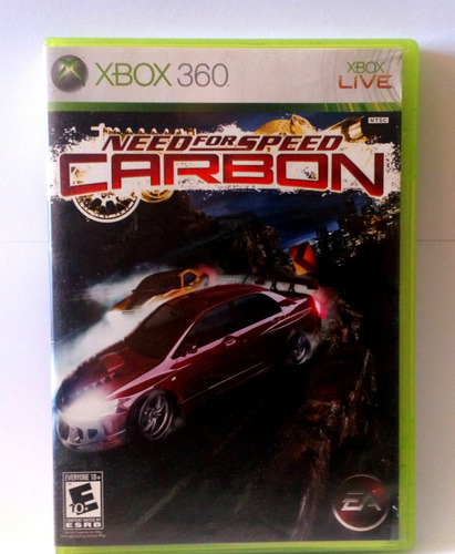 need for speed carbon xbox 360 usado