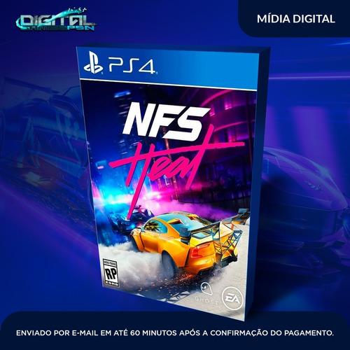 need for speed heat ps4 psn mídia digital envio imediato!