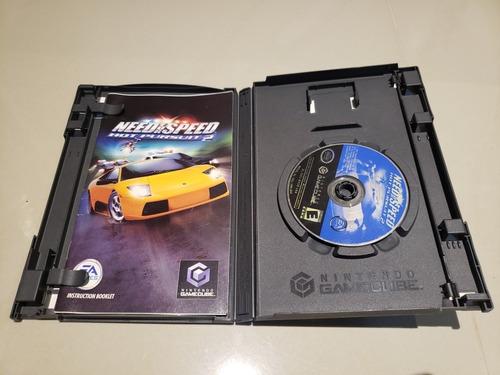 need for speed hot pursuit 2 nintendo gamecube original amer