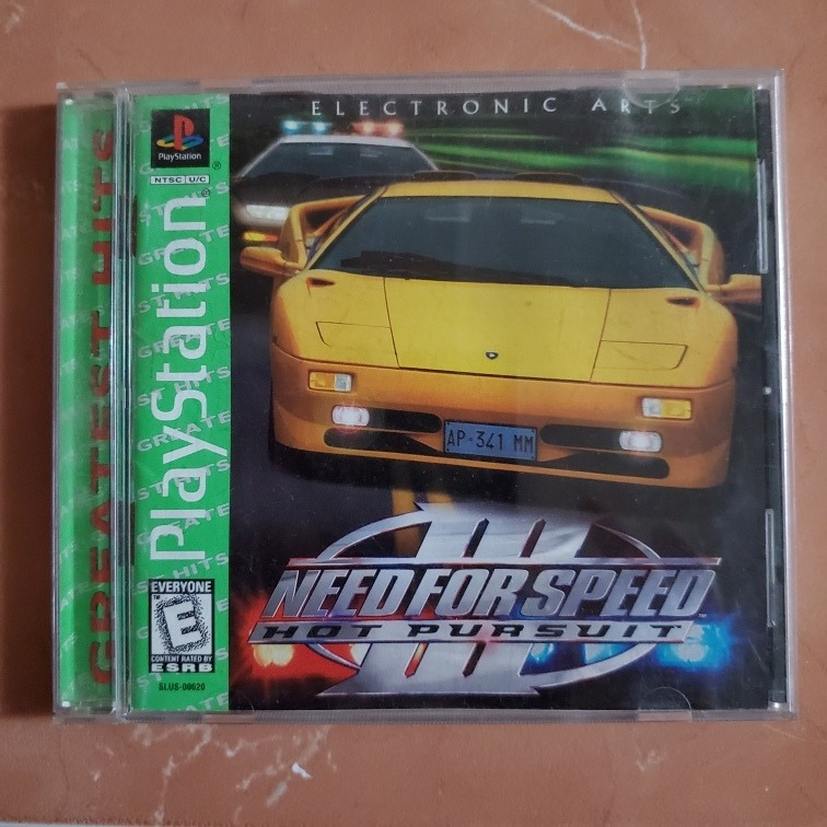 need for speed hot pursuit 3 ps1