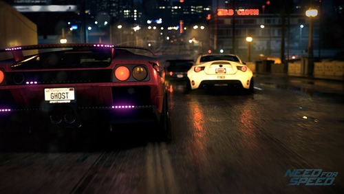 need for speed / juego físico / ps4