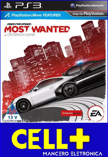 need for speed most wanted juego en disco físico ps3
