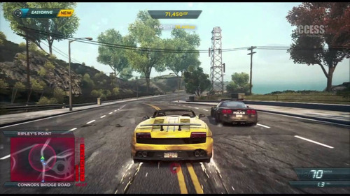 need for speed most wanted juego fisico ps 3