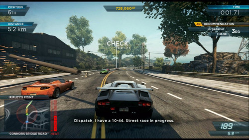 need for speed most wanted juego ps3