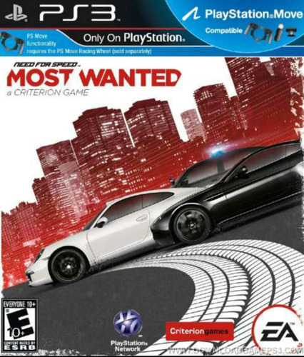 need for speed most wanted ps3 juegos