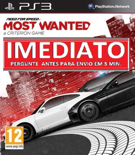 need for speed most wanted ps3 psn midia digital