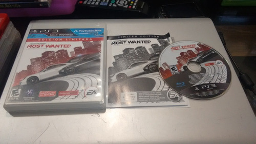 need for speed mostwanted completo para play station 3