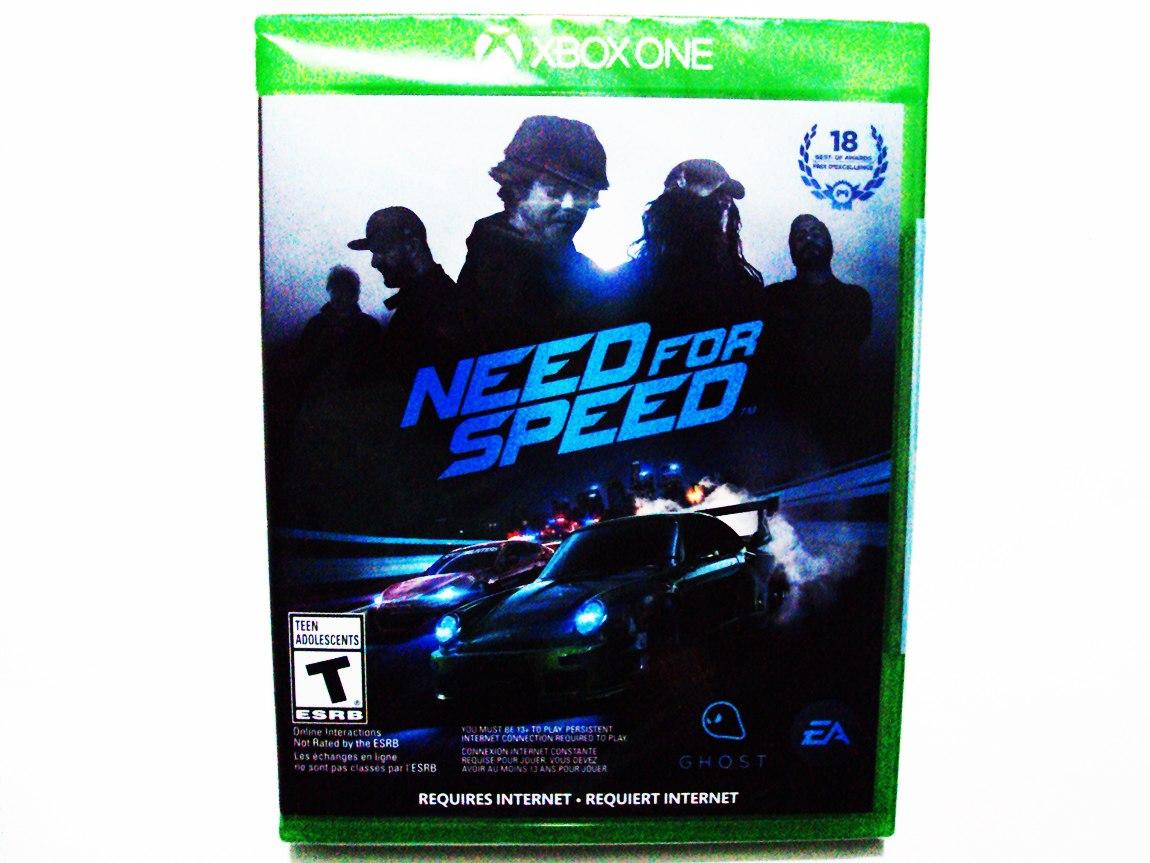 need for speed nuevo xbox one en mercado libre. Black Bedroom Furniture Sets. Home Design Ideas
