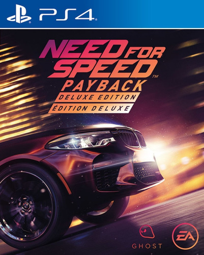 need for speed payback deluxe edition ps4 digital secundaria