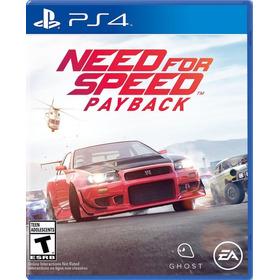 Need For Speed Payback Para Ps4. Nuevo Y Sellado. En Español