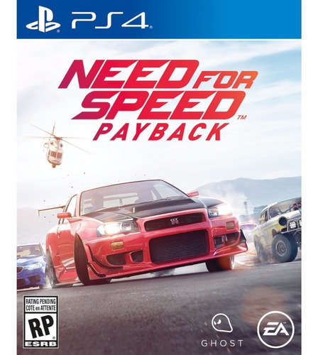 need for speed payback ps4 físico nuevo - addware