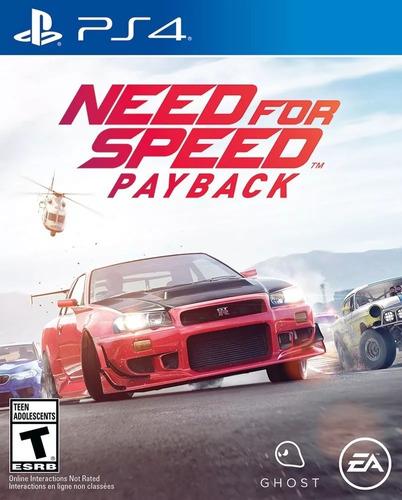 need for speed payback ps4 fisico sellado en palermo