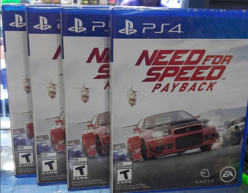 need for speed payback ps4 nuevo sellado stock