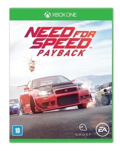 need for speed payback xbox one ( sellado ) envíos grátis