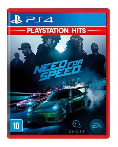 need for speed ps4 mídia física lacrado playstation hits