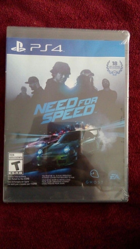 need for speed ps4 sellado oferta!