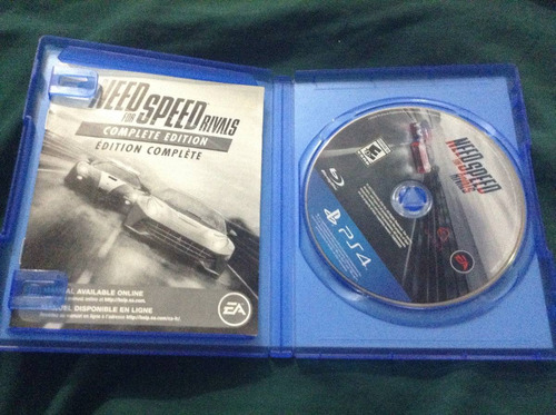 need for speed rivals (complete edition) para ps4