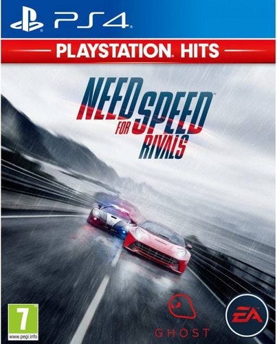 need for speed rivals (nfs) - ps4 fisico nuevo & sellado