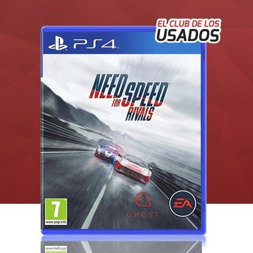 need for speed rivals (ps4) - físico original usado