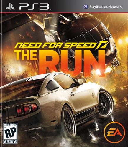 need for speed the run ps3 psn - midia digital