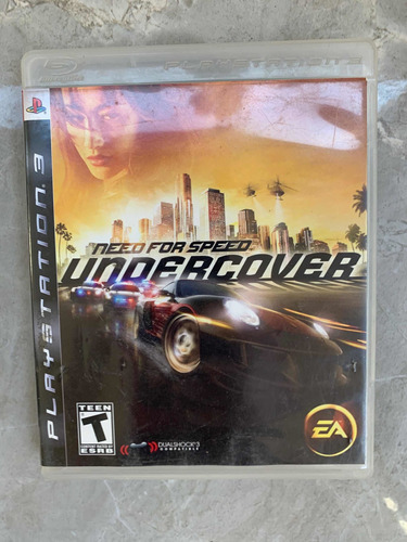 need for speed undecover ps3