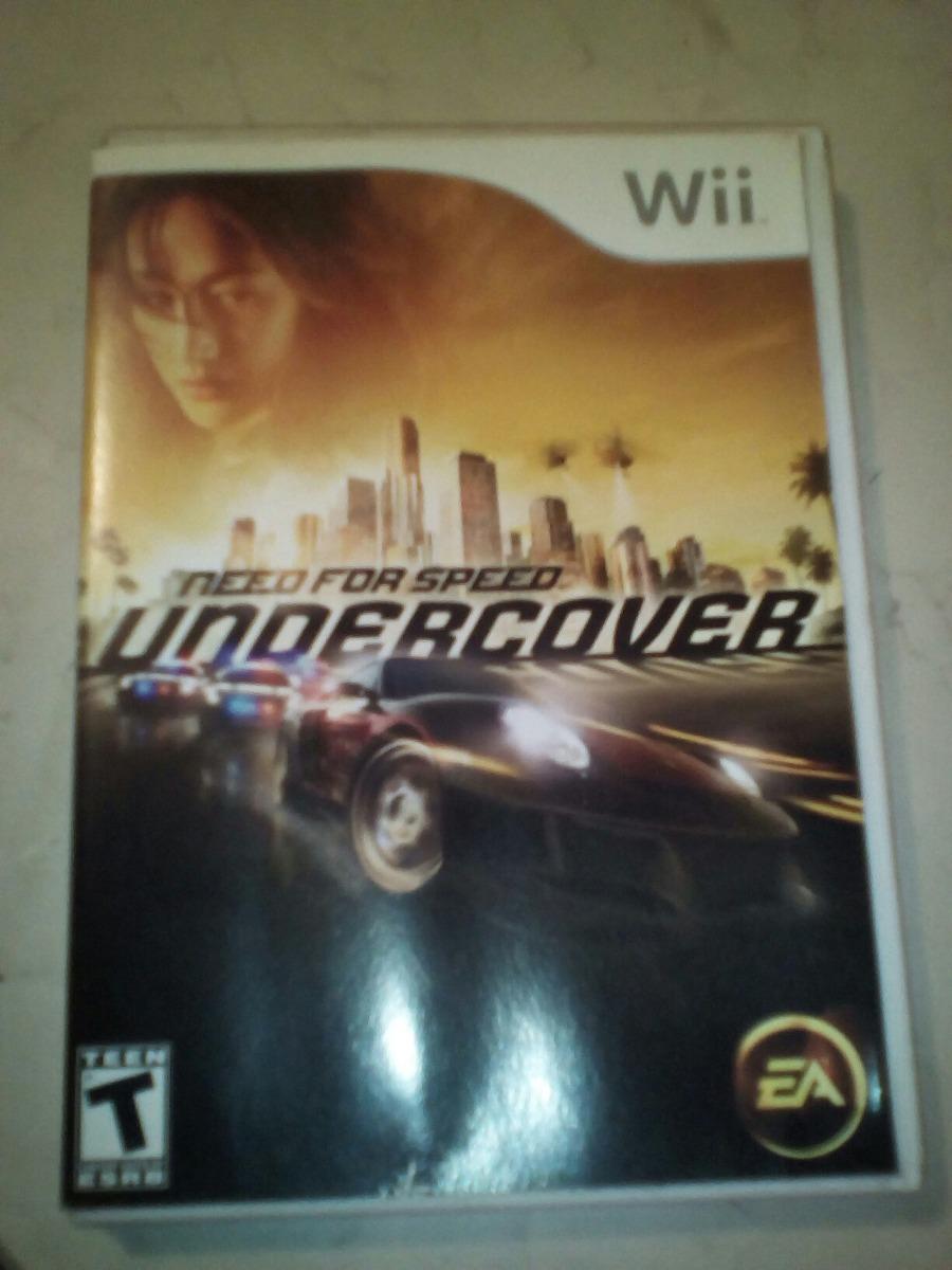 Need For Speed Undercover De Wii - $ 250 00