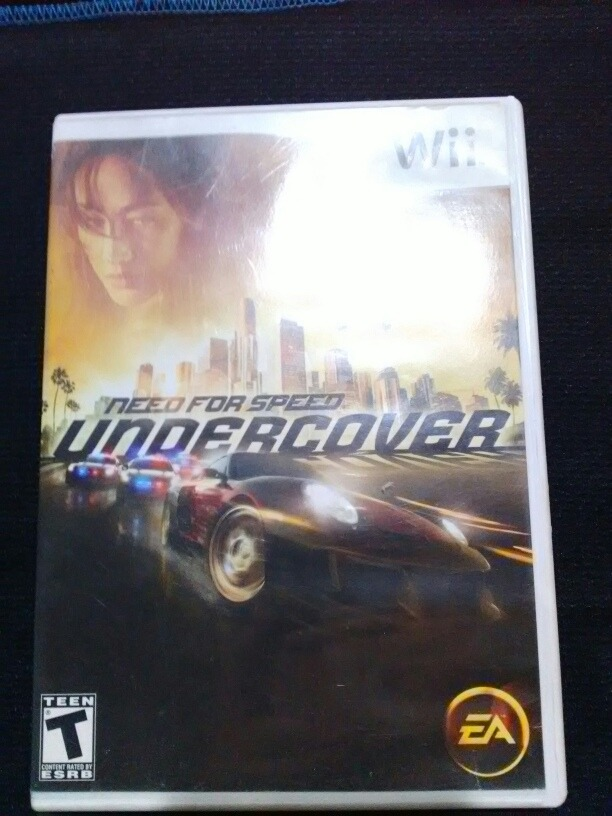 Need For Speed Undercover Nintendo Wii - $ 215 00