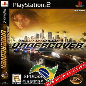 Jogo Need For Speed Undercover, Para Playstation 2, Ps2