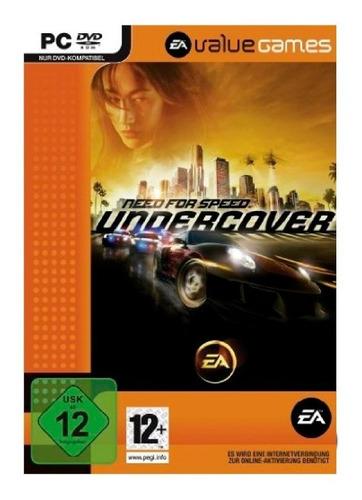 need for speed undercover value juego pc fisico caja dvd box