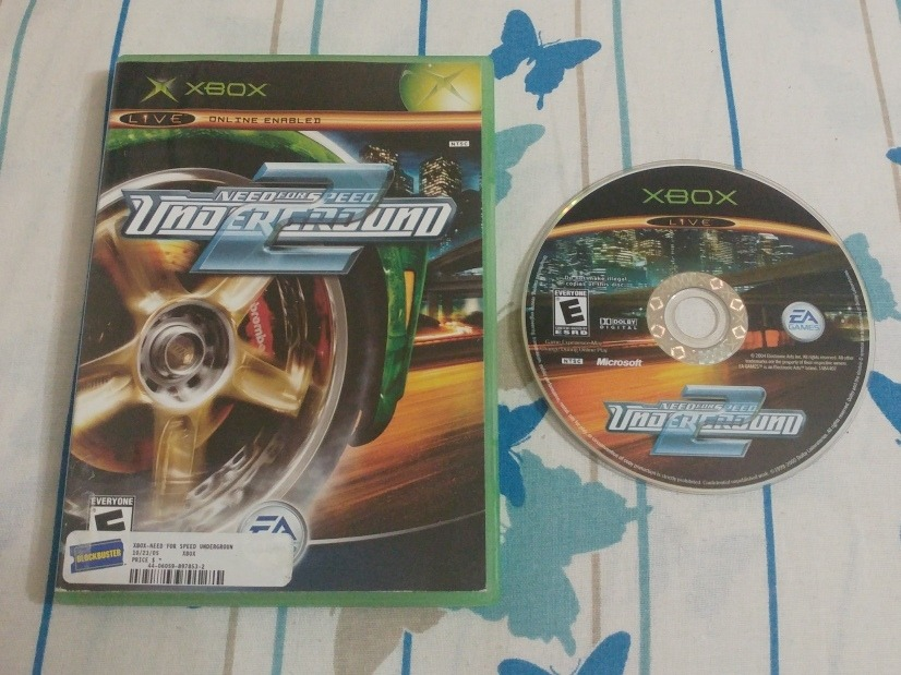 Need For Speed Underground 2 Xbox Original Eua Na Caixa R 149
