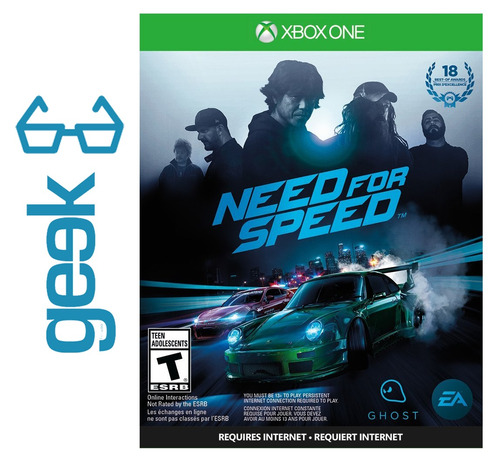 need for speed xbox one - nuevos - fisicos - ecuador geek