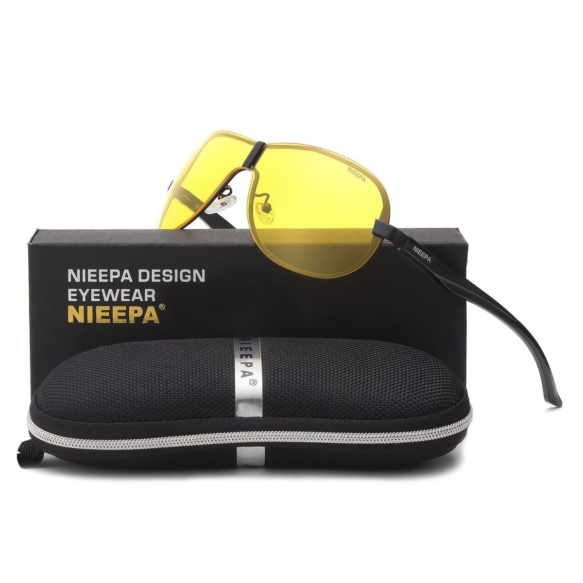 25ba772857 Neepa Hombres Gafas De Sol Polarizadas Marca De Moda Sin. - S/ 137 ...