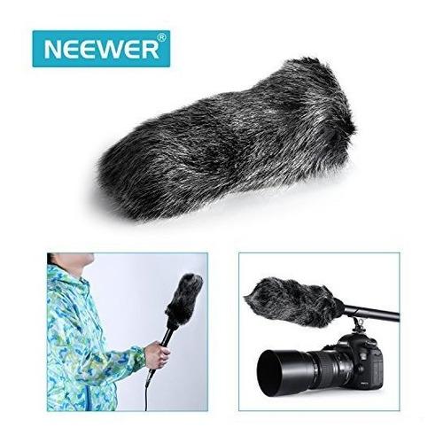 neewer 14inches escopeta unidireccional mono pro microfono d