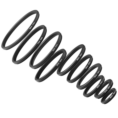 neewer®, 20 piezas, juego de anillo adaptador de paso de met