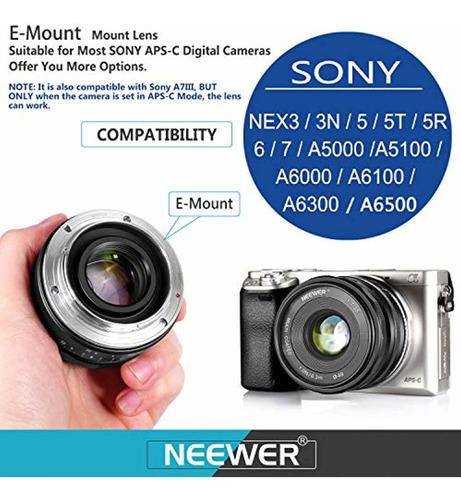 neewer 35mm f   1.7 large aperture manual