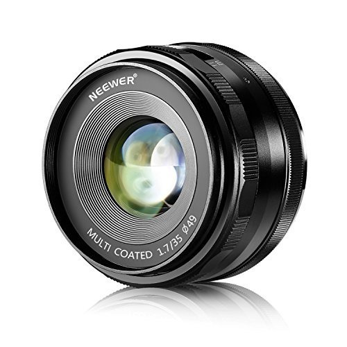 neewer 35mm f / 1.7 large aperture manual prime fixed lens a