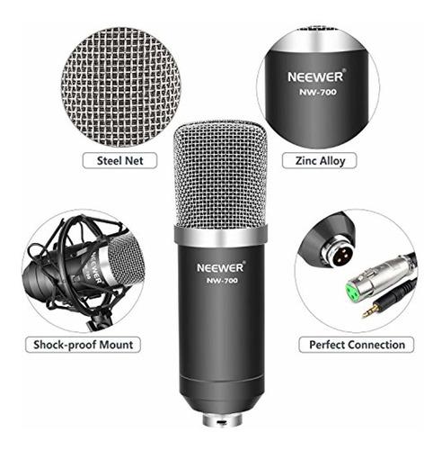 neewer nw-700 professional studio broadcasting
