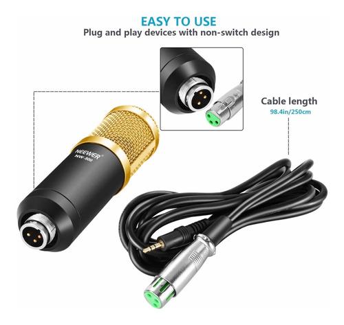 neewer nw-800 pro - kit de micrófono