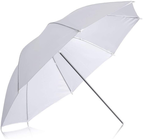 neewer paraguas blanco translucido 33 pulgadas  84cm